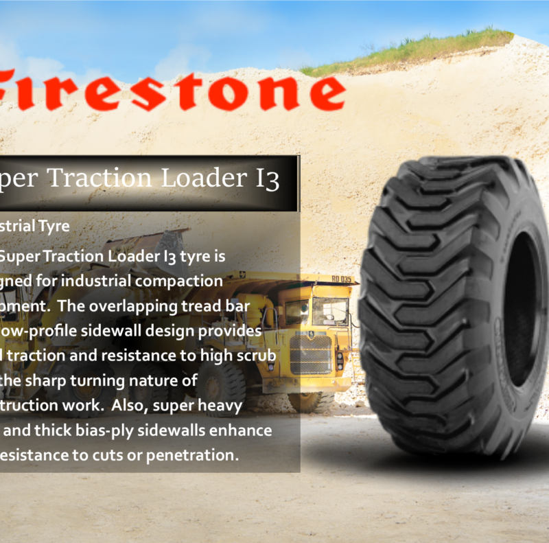 Super Traction Loader I3